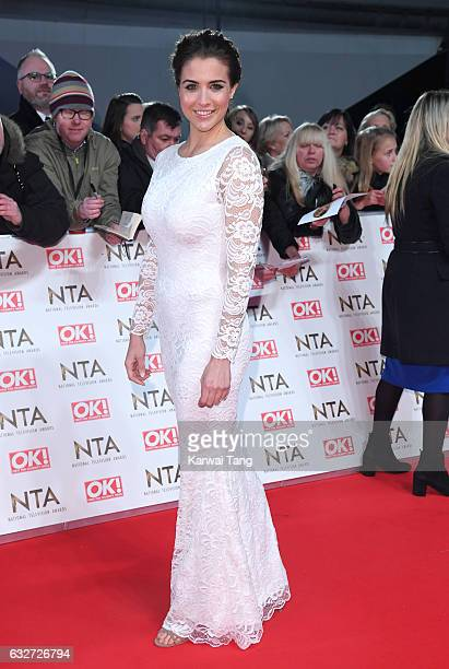 Gemma Atkinson attends the National Television Awards at The O2 Arena on January 25 2017 in London England