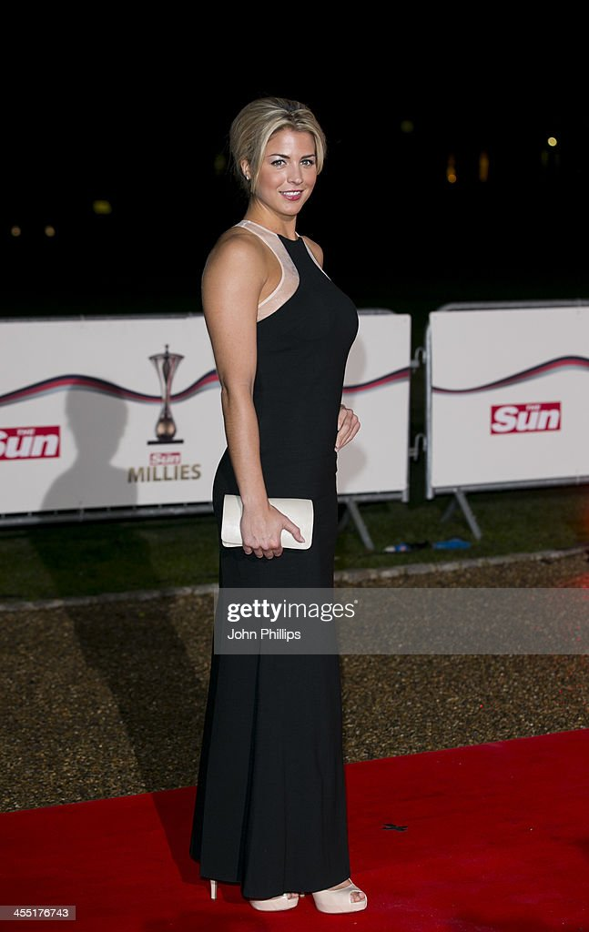 <a gi-track='captionPersonalityLinkClicked' href=/galleries/search?phrase=Gemma+Atkinson&family=editorial&specificpeople=240257 ng-click='$event.stopPropagation()'>Gemma Atkinson</a> attends The Sun Military Awards at National Maritime Museum on December 11, 2013 in London, England.