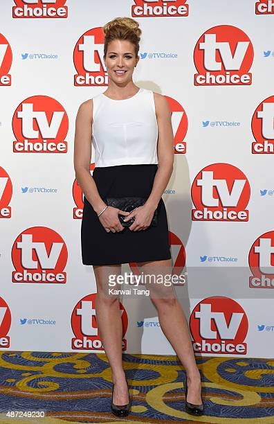 Gemma Atkinson attends the TV Choice Awards 2015 at Hilton Park Lane on September 7 2015 in London England