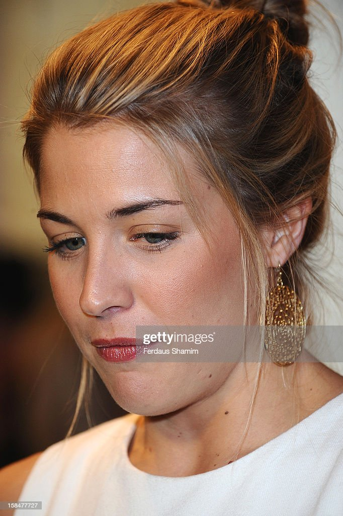 Gemma Atkinson attends the UK Film Premiere of 'The Double' on December 17, 2012 in London, England.