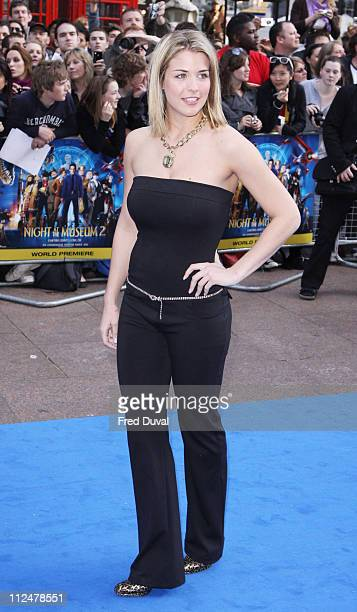 Gemma Atkinson attends the world premiere of 'Night at the Museum 2' at Empire Leicester Square on May 12 2009 in London England