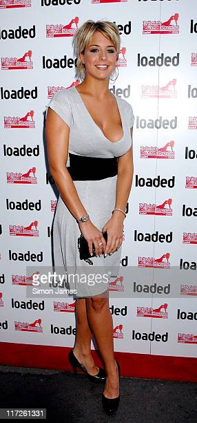 Gemma Atkinson during Loaded's Sexiest Singles Party August 1 2006 at The Play Room in London Great Britain