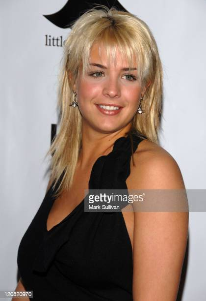 Gemma Atkinson from Hollyoaks during 2006 Little Black Dress Gala and Auction Inside at Urbis Manchester in Manchester Great Britain