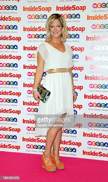 Gemma Bissix attends the Inside Soap Awards at Ministry Of Sound on October 21 2013 in London England