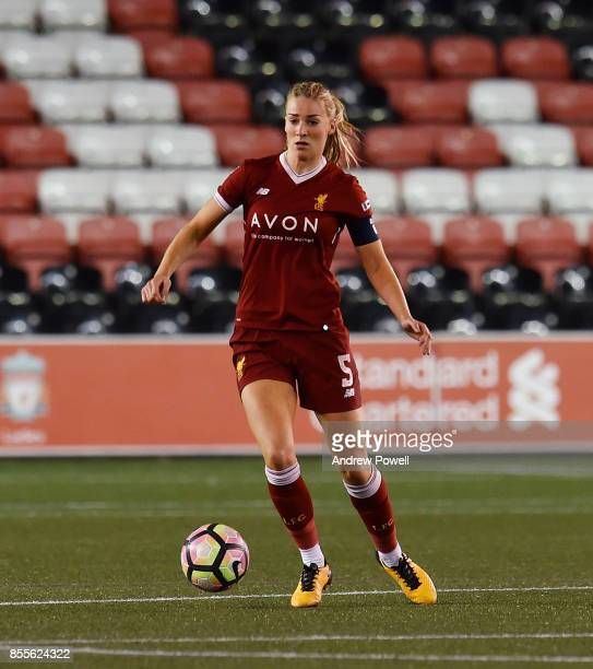 Gemma Bonner of Liverpool Ladies during the Women's Super League match between Liverpool Ladies and Reading FC Women at Select Security Stadium on...