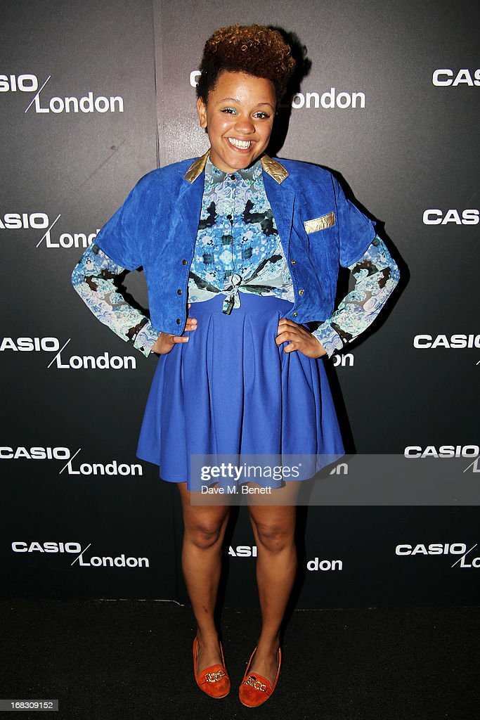 Gemma Cairney attends as Casio London celebrate the 1st birthday of their Covent Garden store on May 8, 2013 in London, England.