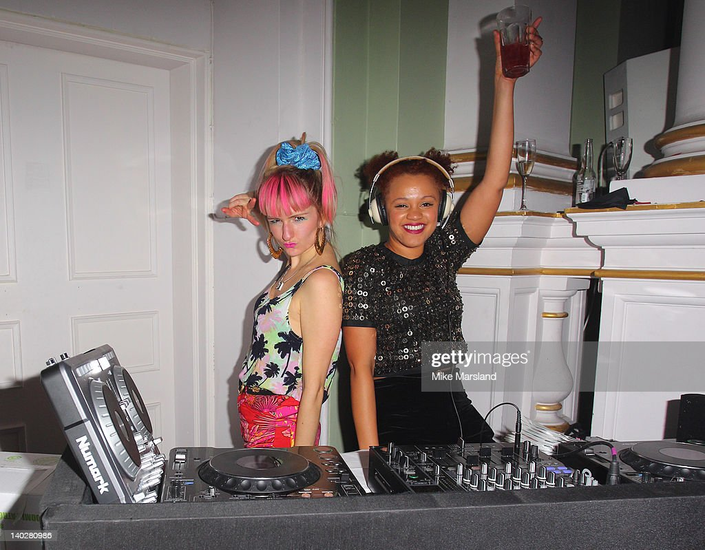 Gemma Cairney attends the 5th anniversary party of LOOK magazine at One Marylebone on March 1, 2012 in London, England.
