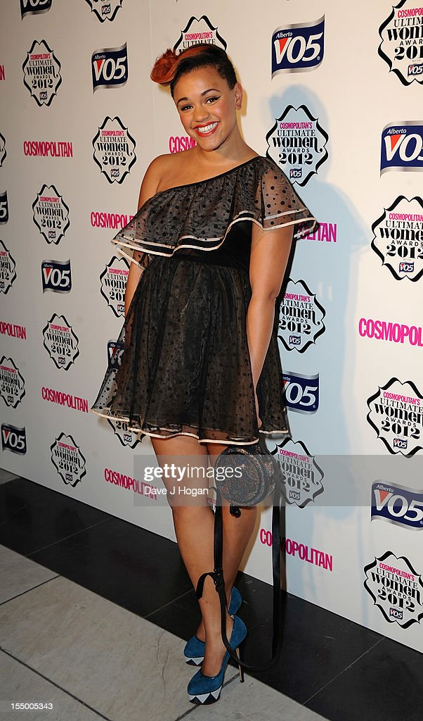 Gemma Cairney attends the Cosmopolitan Ultimate Woman of the Year awards at Victoria & Albert Museum on October 30, 2012 in London, England.