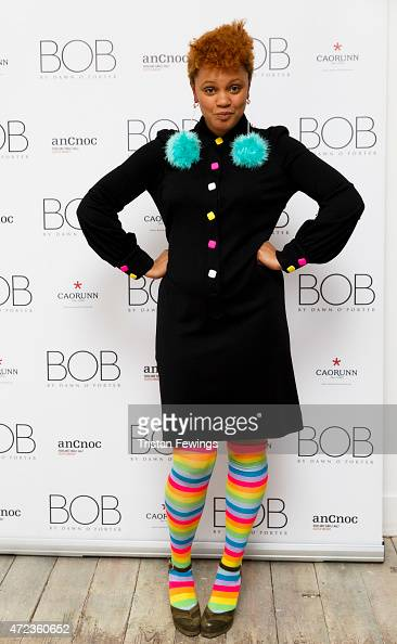Gemma Cairney attends the launch of Dawn O'Porter's BOB pop up boutique at Seven Dials with Caorunn Gin and anCnoc vinatage Whisky Vidal Sassoon and...