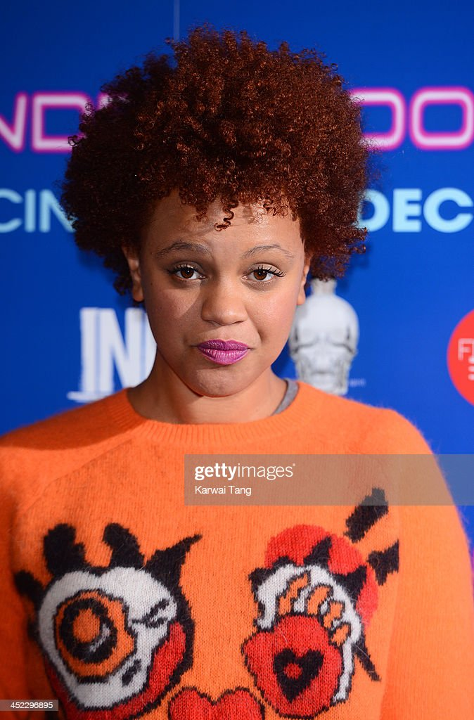 <a gi-track='captionPersonalityLinkClicked' href=/galleries/search?phrase=Gemma+Cairney&family=editorial&specificpeople=6757226 ng-click='$event.stopPropagation()'>Gemma Cairney</a> attends the UK Premiere of 'Powder Room' at Cineworld Haymarket on November 27, 2013 in London, England.