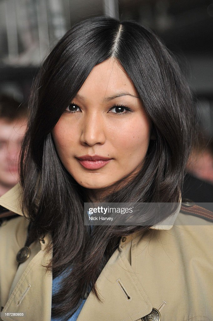 <a gi-track='captionPersonalityLinkClicked' href=/galleries/search?phrase=Gemma+Chan&family=editorial&specificpeople=6928347 ng-click='$event.stopPropagation()'>Gemma Chan</a> attends Burberry Live at 121 Regent Street at Burberry on April 23, 2013 in London, England.