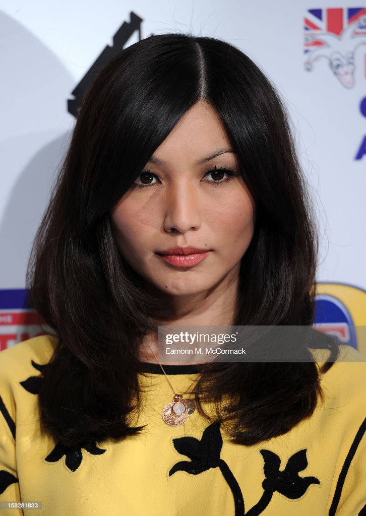 Gemma Chan attends the British Comedy Awards at Fountain Studios on December 12, 2012 in London, England.