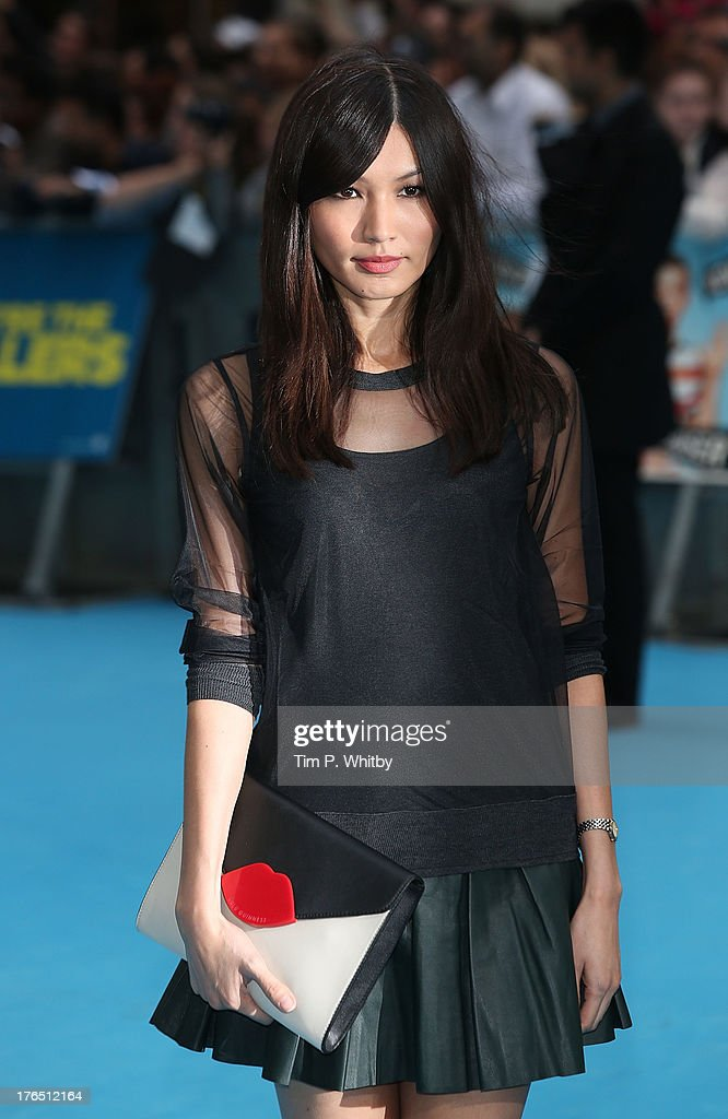 Gemma Chan attends the European premiere of 'We're The Millers' at Odeon West End on August 14, 2013 in London, England.