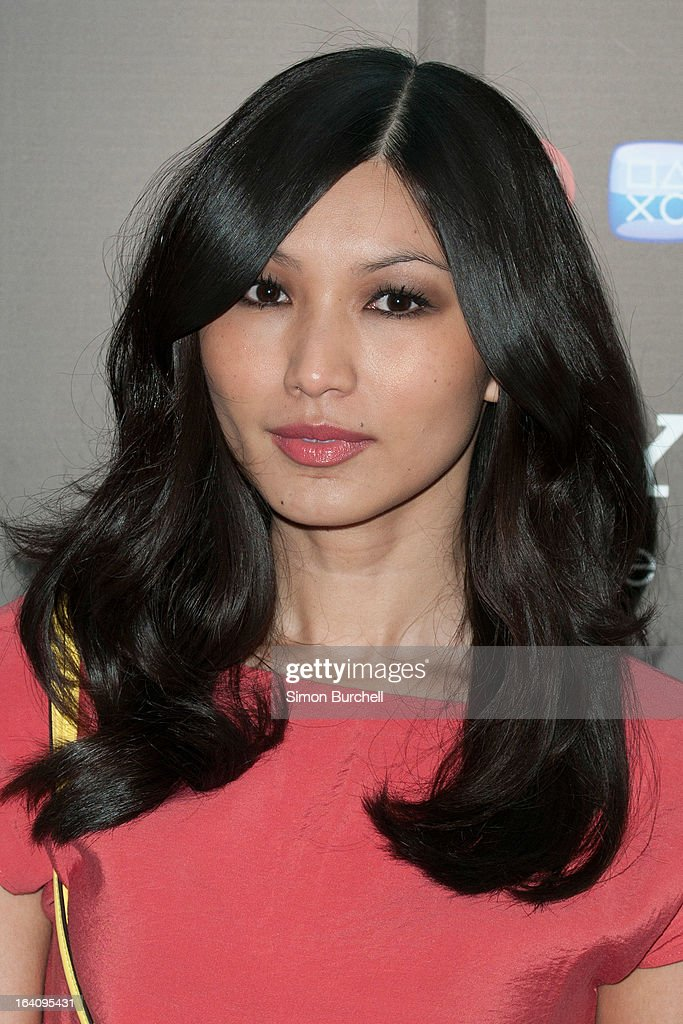 Gemma Chan attends the launch of the new Sony Xperia Z on March 19, 2013 in London, England.