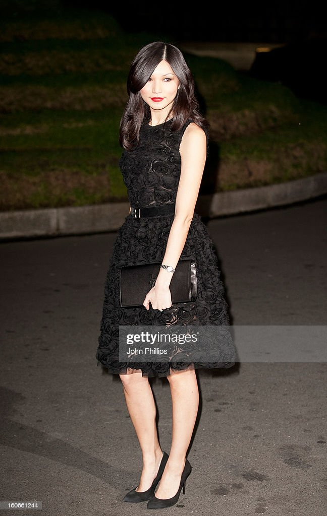 Gemma Chan attends the London Evening Standard British Film Awards at the London Film Museum on February 4, 2013 in London, England.