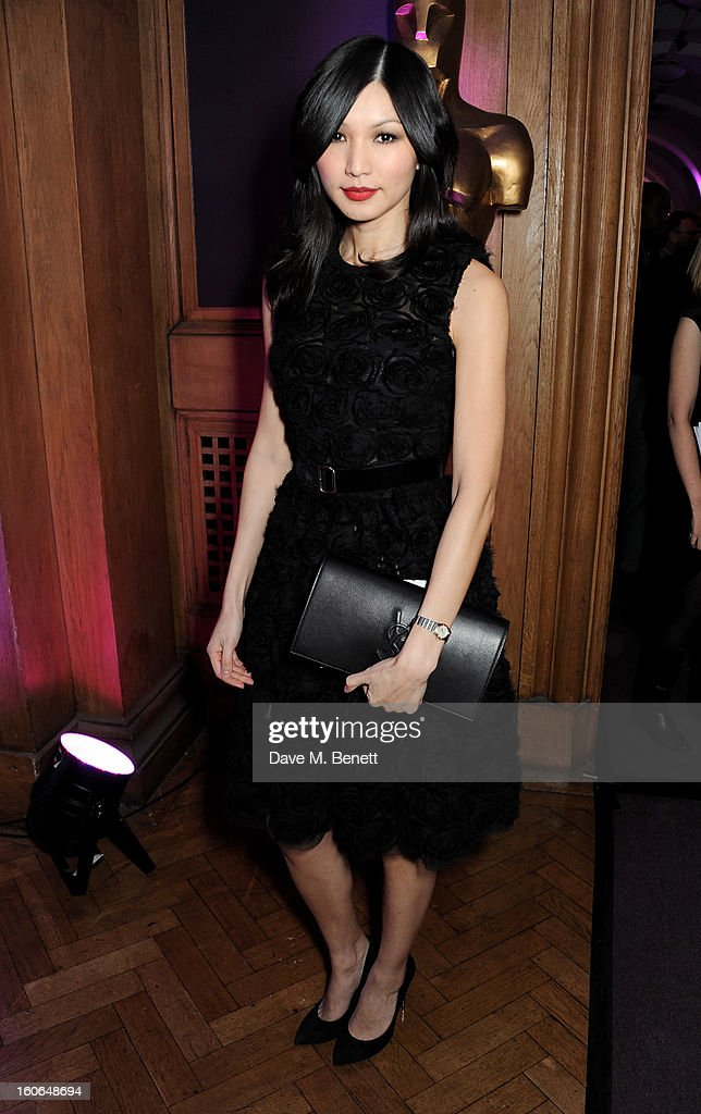 Gemma Chan attends the London Evening Standard British Film Awards supported by Moet & Chandon and Chopard at the London Film Museum on February 4, 2013 in London, England.