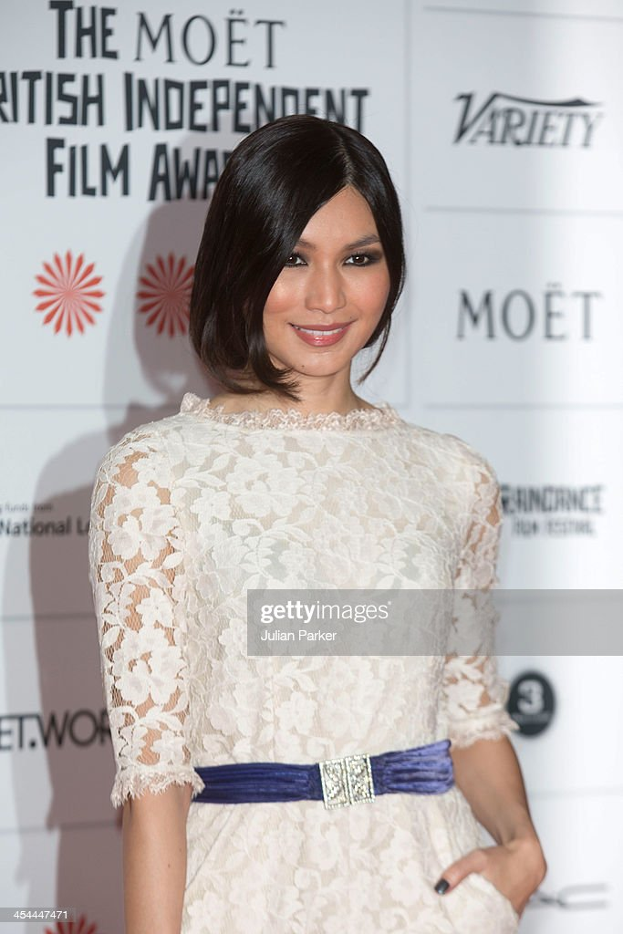 <a gi-track='captionPersonalityLinkClicked' href=/galleries/search?phrase=Gemma+Chan&family=editorial&specificpeople=6928347 ng-click='$event.stopPropagation()'>Gemma Chan</a> attends the Moet British Independent Film awards at Old Billingsgate Market on December 8, 2013 in London, England.