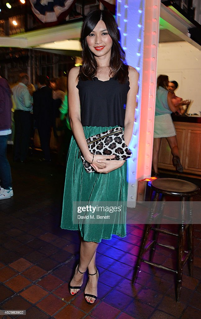 <a gi-track='captionPersonalityLinkClicked' href=/galleries/search?phrase=Gemma+Chan&family=editorial&specificpeople=6928347 ng-click='$event.stopPropagation()'>Gemma Chan</a> attends the star studded VIP launch party for truTV, a brand new larger than life TV channel launching on 4th August, at the tru-Man Brewery, on July 31, 2014 in London, England.