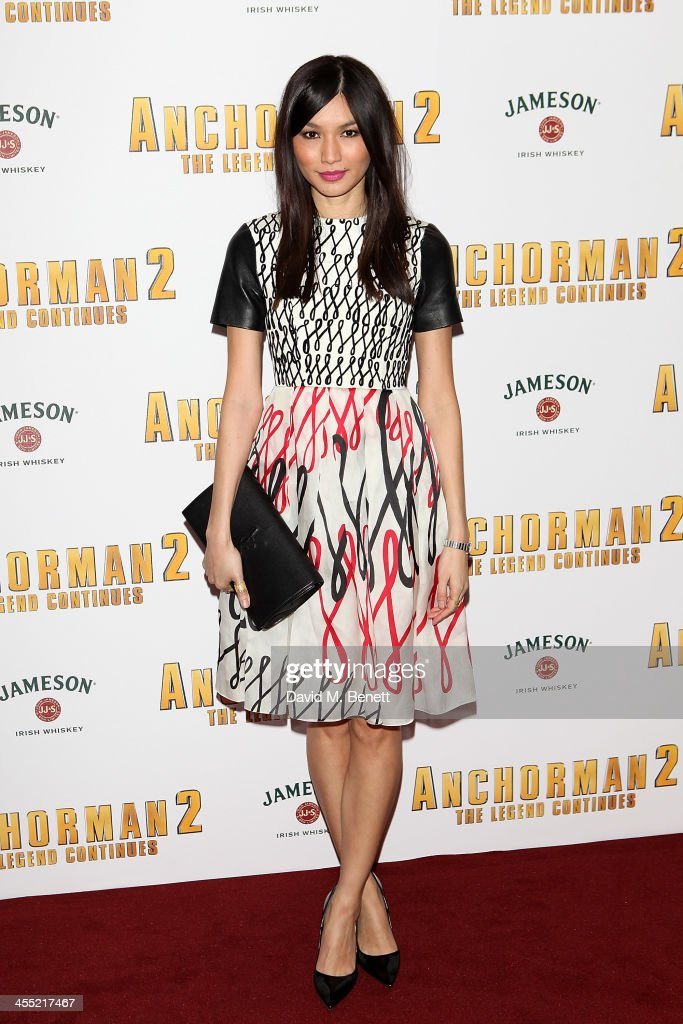 <a gi-track='captionPersonalityLinkClicked' href=/galleries/search?phrase=Gemma+Chan&family=editorial&specificpeople=6928347 ng-click='$event.stopPropagation()'>Gemma Chan</a> attends the UK premiere of 'Anchorman 2: The Legend Continues' at the Vue West End on December 11, 2013 in London, England.