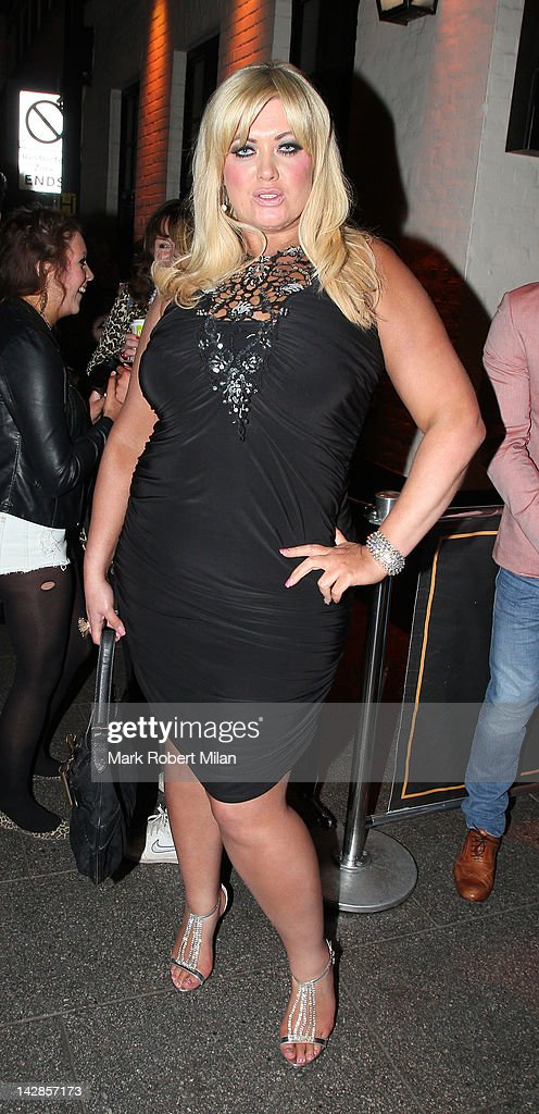 Gemma Collins attends Harry Derbidge's 18th birthday party at Sugar Hut on April 13, 2012 in London, England.