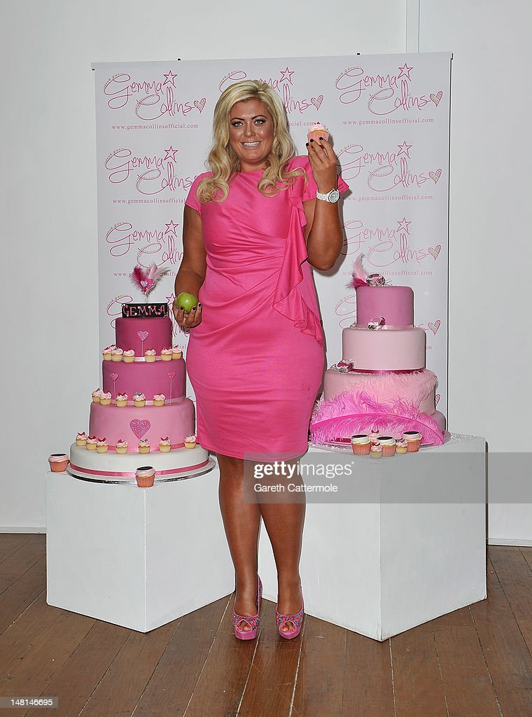 Gemma Collins launches her plus-size clothing range at The Worx on July 11, 2012 in London, England.