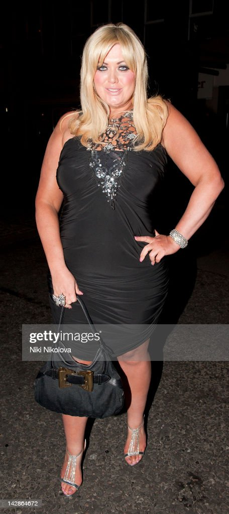 Gemma Collins sighting on April 13, 2012 in London, England.