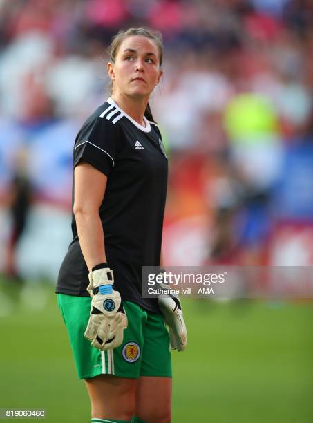 Gemma Fay of Scotland Women during the UEFA Women's Euro 2017 match between England and Scotland at Stadion Galgenwaard on July 19 2017 in Utrecht...