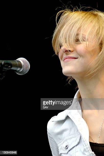 Gemma Hayes during St Patrick's Day Festival in London March 12 2006 in London Great Britain