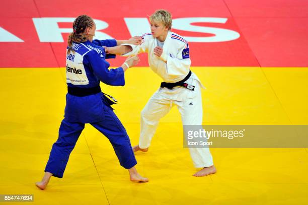 Gemma HOWELL / Morgane RIBOUT 57kg Championnats du Monde de Judo 2011 Paris