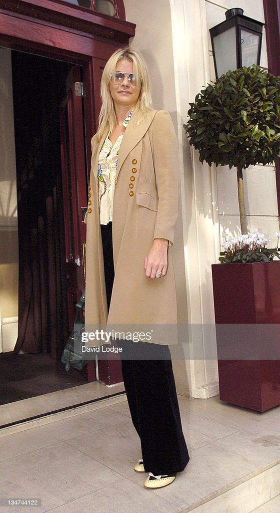 Gemma Kidd during 2005 InStyle Shopping Awards - Winners Lunch at Morton's, Berkeley Square in London, Great Britain.