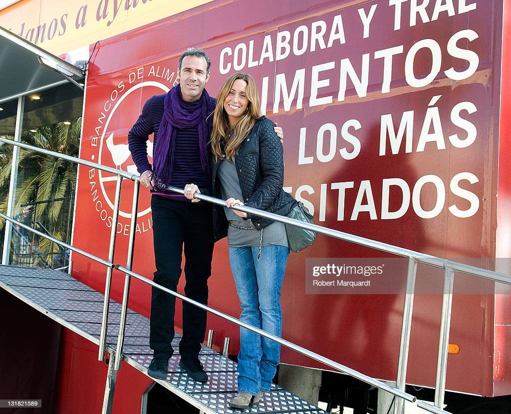 Gemma Mengual and Alex Corretja Present a Charity Event