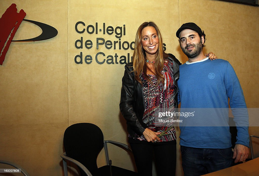 <a gi-track='captionPersonalityLinkClicked' href=/galleries/search?phrase=Gemma+Mengual&family=editorial&specificpeople=796507 ng-click='$event.stopPropagation()'>Gemma Mengual</a> and enric Martin attend the presentation <a gi-track='captionPersonalityLinkClicked' href=/galleries/search?phrase=Gemma+Mengual&family=editorial&specificpeople=796507 ng-click='$event.stopPropagation()'>Gemma Mengual</a>'s new book 'El Agua o La Vida', 'The water or The Life' on March 6, 2013 in Barcelona, Spain.