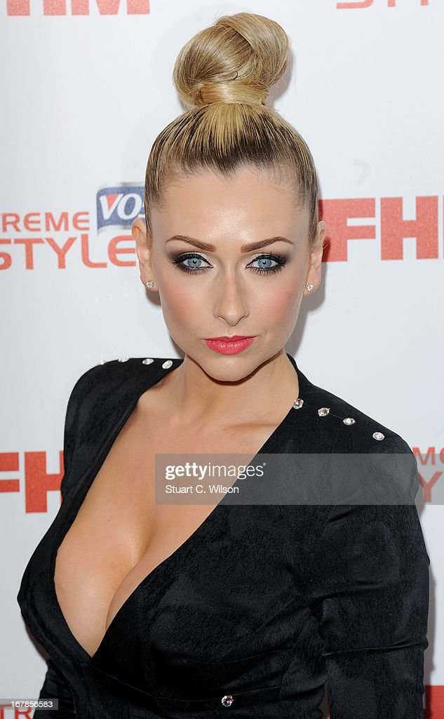 <a gi-track='captionPersonalityLinkClicked' href=/galleries/search?phrase=Gemma+Merna&family=editorial&specificpeople=3983471 ng-click='$event.stopPropagation()'>Gemma Merna</a> attends the FHM 100 Sexiest Women In The World 2013 Launch Party at Sanderson Hotel on May 1, 2013 in London, England.