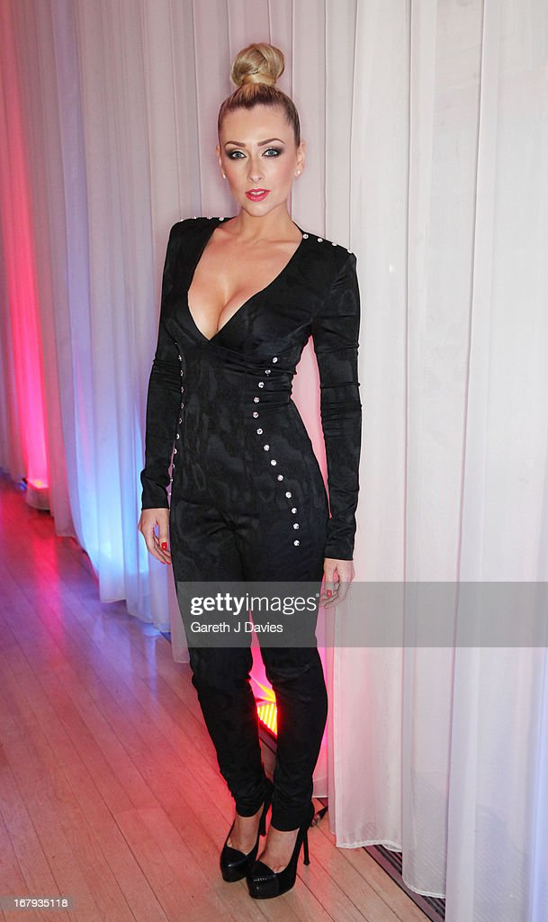 Gemma Merna attends The FHM 100 Sexiest Women In The World 2013 Launch Party at the Sanderson Hotel on May 1, 2013 in London, England.