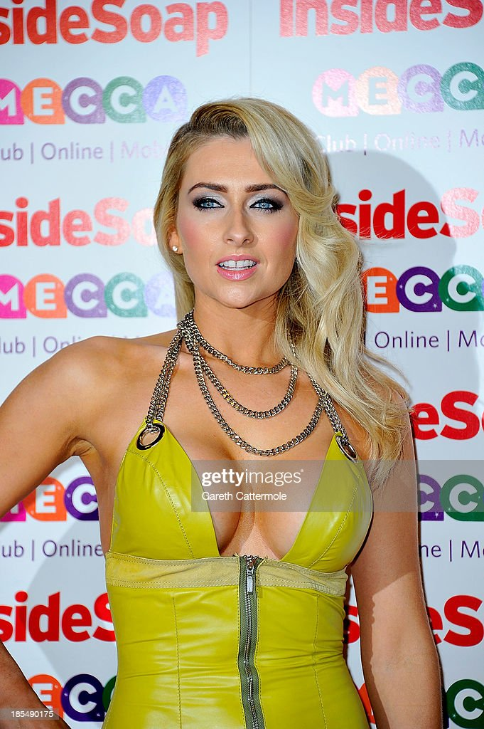 Gemma Merna attends the Inside Soap Awards, at Ministry Of Sound on October 21, 2013 in London, England.