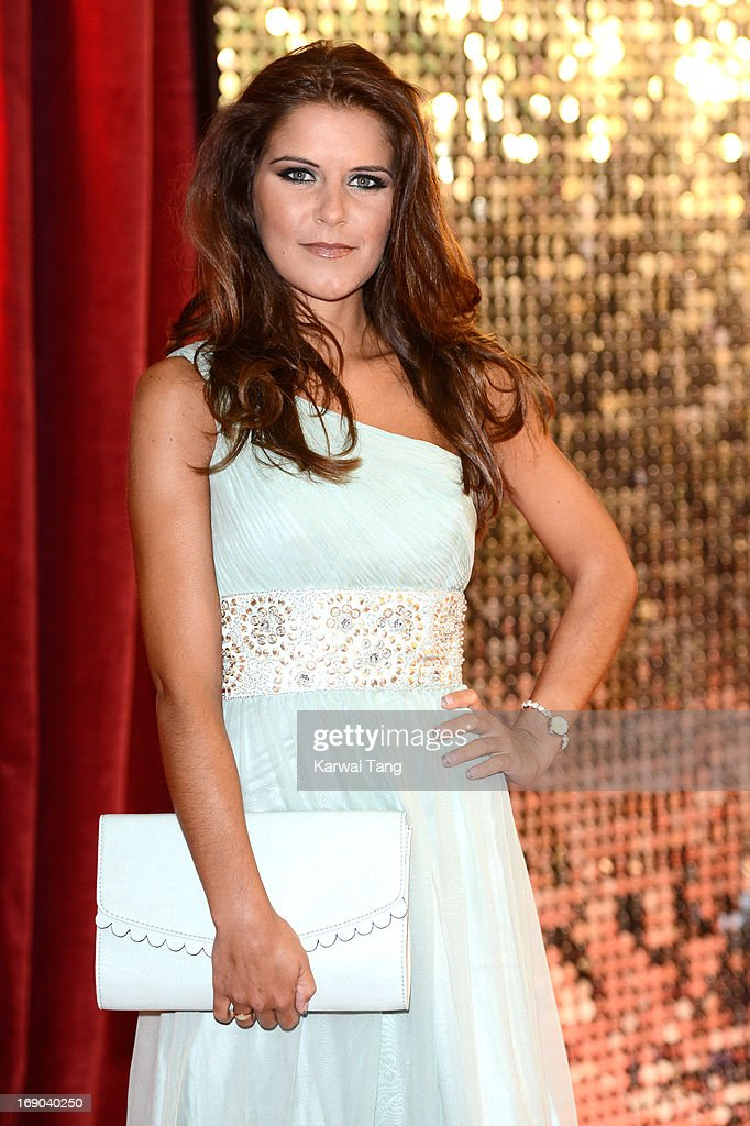 Gemma Oaten attends the British Soap Awards at Media City on May 18, 2013 in Manchester, England.
