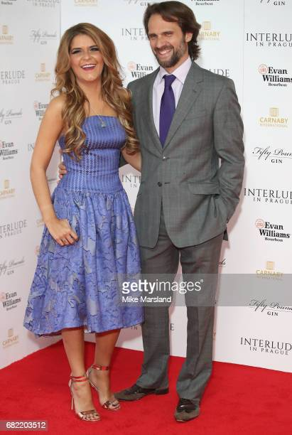Gemma Oaten attends the World Premiere of 'Interlude In Prague' at Odeon Leicester Square on May 11 2017 in London England