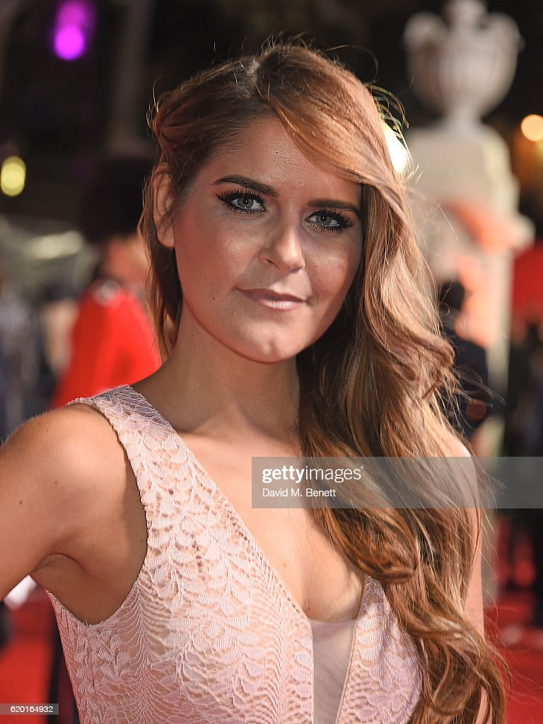 Gemma Oaten attends the World Premiere of new Netflix Original series 'The Crown' at Odeon Leicester Square on November 1, 2016 in London, England.
