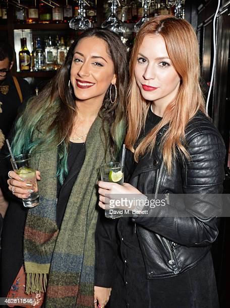 Gemma Styles and guest attend the Oh My Love PreLFW Disco at The Scotch of St James on February 5 2015 in London England