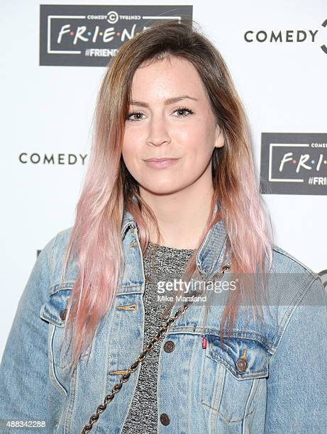 Gemma Styles attends the launch of Friendsfest at The Boiler HouseThe Old Truman Brewery on September 15 2015 in London England