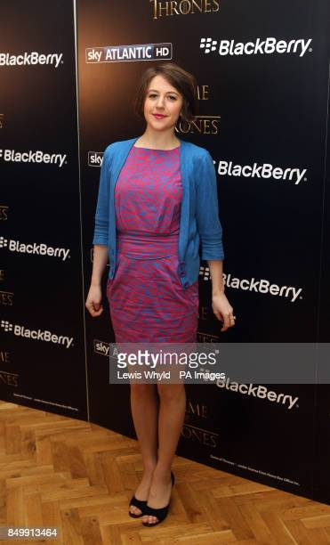 Gemma Whelan at a screening of the first episode of series 3 of Game of Thrones in London