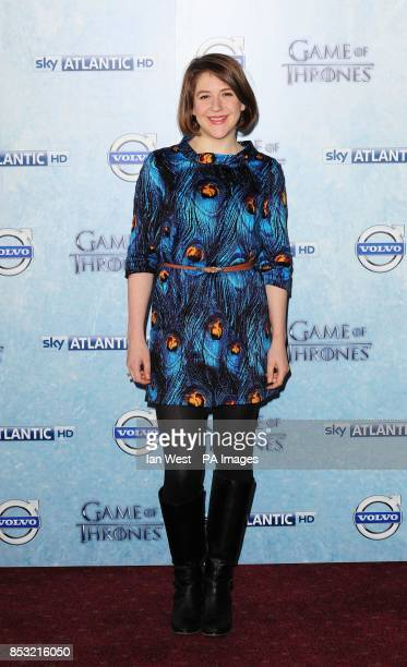Gemma Whelan attending Sky Atlantic's premiere of the fourth season of Game of Thrones at The Guildhall London