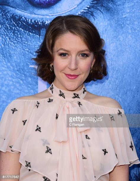 Gemma Whelan attends the Season 7 Premiere Of HBO's 'Game Of Thrones' at Walt Disney Concert Hall on July 12 2017 in Los Angeles California