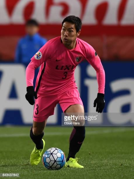 Gen Shoji of Kashima Antlers in action during the AFC Champions League Group E match between Kashima Antlers and Ulsan Hyndai at Kashima Soccer...