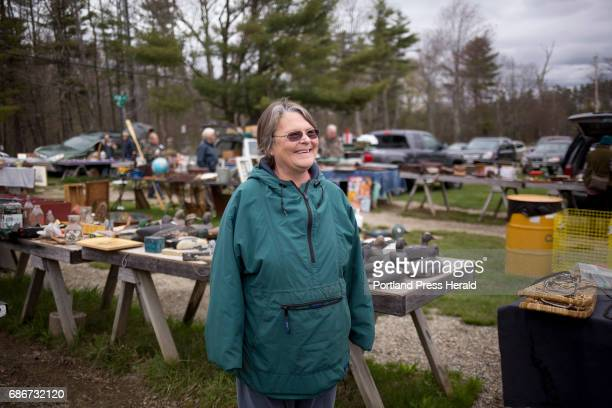 Gena Kilkenny during the opening morning of Montsweag Flea Market The market which sits in a field near her family home was started by her mother...