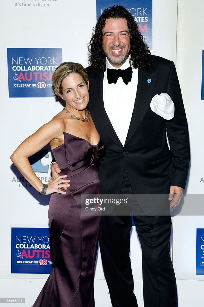 Gena Mann and Billy Man attend the Winter Ball for Autism at Metropolitan Museum of Art on December 2, 2013 in New York City.