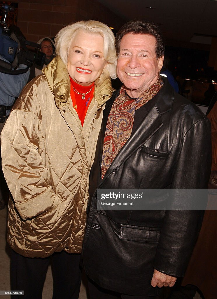 Gena Rowlands with cool, Husband Robert Forrest