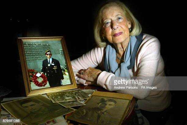 Gena Turgel with a picture of her Husband Norman Turgel at her home in London Gena Turgel entered the gas chamber at Auschwitz and lived to tell the...