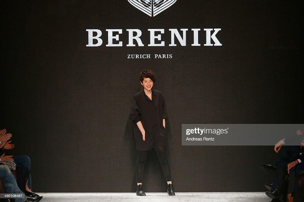 A genareral view of runway at the Berenik show during Mercedes-Benz Fashion Days Zurich 2013 on November 16, 2013 in Zurich, Switzerland.