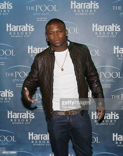 T Genasis performs at The Pool After Dark at Harrah's Resort on Friday February 13 2015 in Atlantic City New Jersey